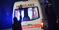 Автомобиль скорой медицинской Турции. Архивное фото