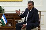 Өзбекстандын президентинин милдетин аткаруучу Шавкат Мирзиёевдин архивдик сүрөтү