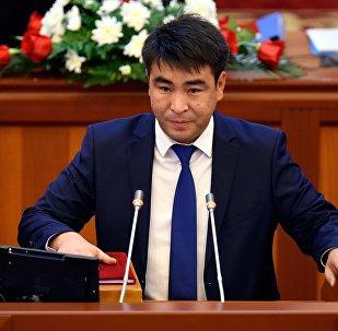 КСДП фракциясынын депутаты Жанар Акаевдин архивдик сүрөтү