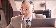 Архивное фото экс-президента Федерации бильярда Турсунбая Бакир уулу