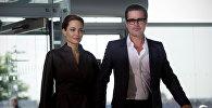 Актриса и специальный посланник ООН Анджелина Джоли и ее муж американский актер Брэд Питт