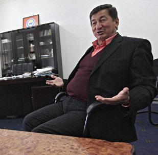 Архивное фото заочно осужденного Джалал-Абадским судом за организацию межэтнического конфликта на юге страны в июне 2010 года Кадыржан Батыров