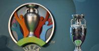 Официальный логотип Чемпионата Европы по футболу 2020 года