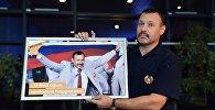 Архивное фото белоруса Андрея Фомочкина, пронесшего на открытии Паралимпиады-2016 российский флаг