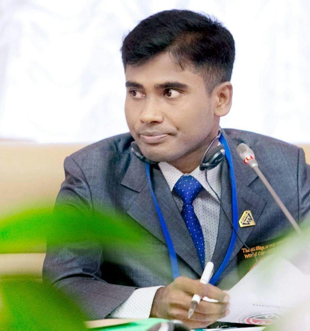 Президент бангладешской федерации мас-рестлинга Сенсей Мухаммад Аль Мамун
