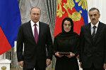 Это награда всего Дагестана – отец убитого офицера на вручении звезды Героя РФ