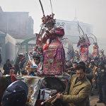 Парад в провинции Чжэцзян (Китай)