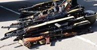 Сданное оружие. Архивное фото