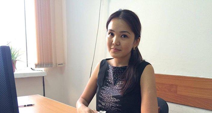 Архивное фото пресс-секретаря ОАО Национальная энергетическая холдинговая компания Фатимы Торокановой