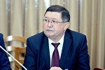 Транспорт жана жолдор министри Замирбек Айдаровдун архивдик сүрөтү
