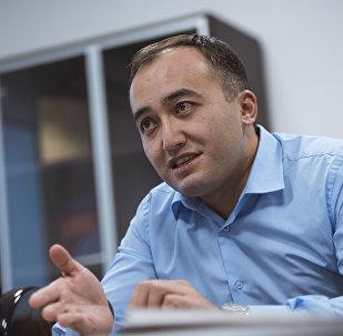 Генеральный директор Общественной телерадиокорпорации КР (КТРК) Илим Карыпбеков. Архивное фото