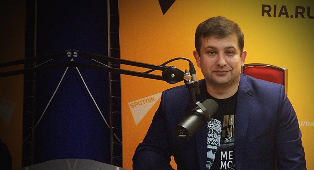 Архивное фото профессора МГУ Андрея Манойло
