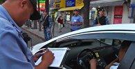 Бишкекская милиция в час пик вышла на рейд