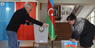 Подготовка к референдуму избирательных участков в Баку. Архивное фото
