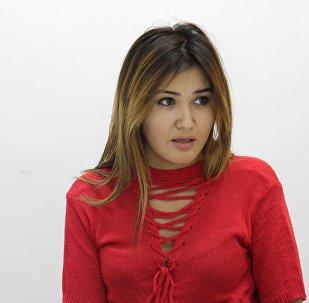 Бишкекчанка Мавлюда Токтахунова, которая не может уехать на учебу в Китай из-за теракта в посольстве