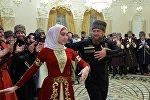 Чечен республикасынын президенти Рамзан Кадыровдун архивдик сүрөтү