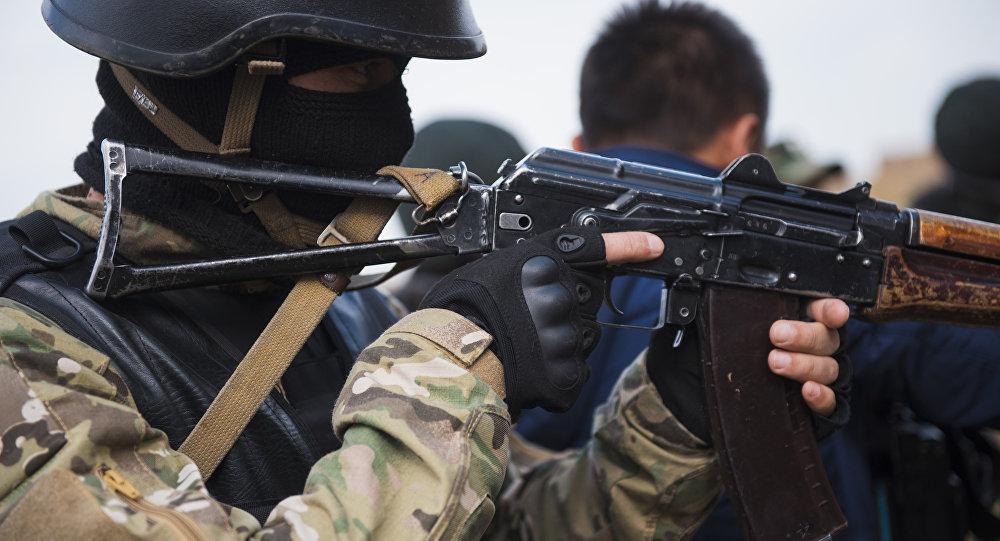 Сотрудники спецназа. Архивное фото