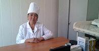 Медсестра села Кок-Таш Саламат Исабекова