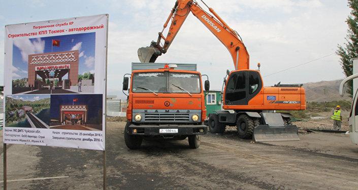 Пункт пропуска «Токмок» накыргызско-казахстанской границе закрыт надва месяца