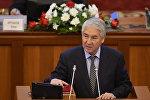 Бир Бол фракциясынын депутаты Мыктыбек Абдылдаевдин архивдик сүрөтү
