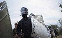 Сотрудники МВД. Архивное фото