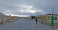 КПП на границе КР. Архивное фото