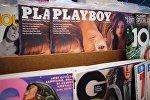 Выпуски журнала Playboy в США. Архивное фото