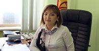 Финансы министрликтин коомчулук менен байланыш секторунун башчысы Гүлмира Түгөлбаеванын архивдик сүрөтү
