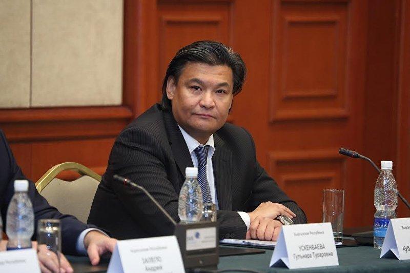 Председатель Комитета содействия экспорту и логистике ТПП КР Кубат Рахимов