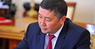 Кыргызстан фракциясынын лидери Канат Исаев. Архив