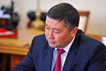 Кыргызстан фракциясынын лидери Канат Исаевдин архивдик сүрөтү