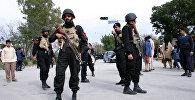 Сотрудники полиции Пакистана. Архивное фото