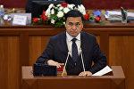 Ата Мекен фракциясынын депутаты Каныбек Иманалиевдин архивдик сүрөтү