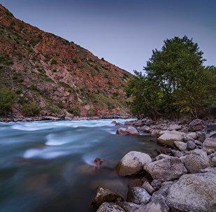 Природа Кыргызстана. Долина реки Кокомерен. Архивное фото