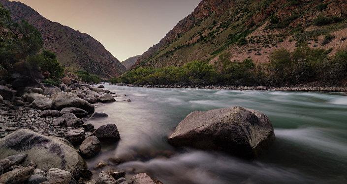 Долина реки Кокомерен. Архивное фото