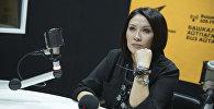 Кыргыз эстрадасынын белгилүү ырчысы, КРдин Эл артисти Гүлнур Сатылганованын архивдик сүрөтү