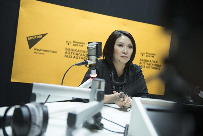 Народная артистка Кыргызстана певица Гулнур Сатылганова