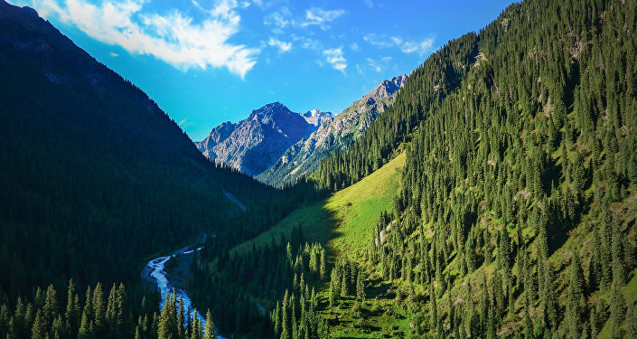 Фотографии природы Кыргызстана снятые путешественником из Египта Могаммедом Эльбанги