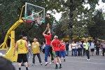 Турнир по баскетболу в честь Международного дня пожилых, организованный УВД Джалал-Абадской области