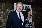 Архивное фото министра иностранных дел Великобритании Бориса Джонсона