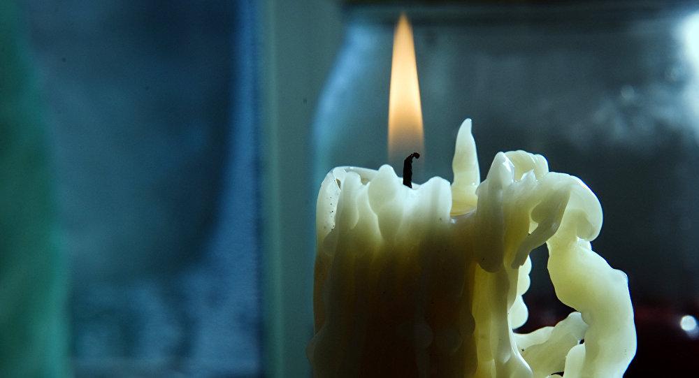 Свеча. Архивное фото