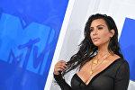 Архивное фото звезды американского реалити-шоу Ким Кардашьян Запад принимает участие на вручении MTV Video Music Awards в Мэдисон Сквер Гарден в Нью-Йорке.