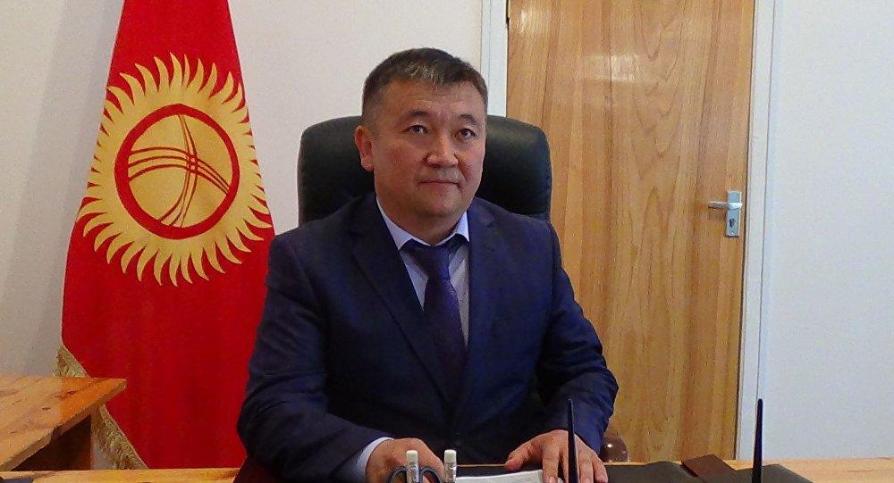 Архивное фото мэра города Каракол Данияра Арпачиева