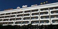 Ош шаарында 7-этаждан кулап каза болгон Ош Нуру мейманканасы