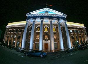 Фасад здания мэрии города Бишкек. Архивное фото