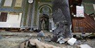 Йемендеги болгон жардыруунун кесепетинин архивдик сүрөтү