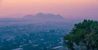 Вид на современный город Ош. Архивное фото