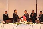 Кыргызско-японский форум по качественной инфраструктуре