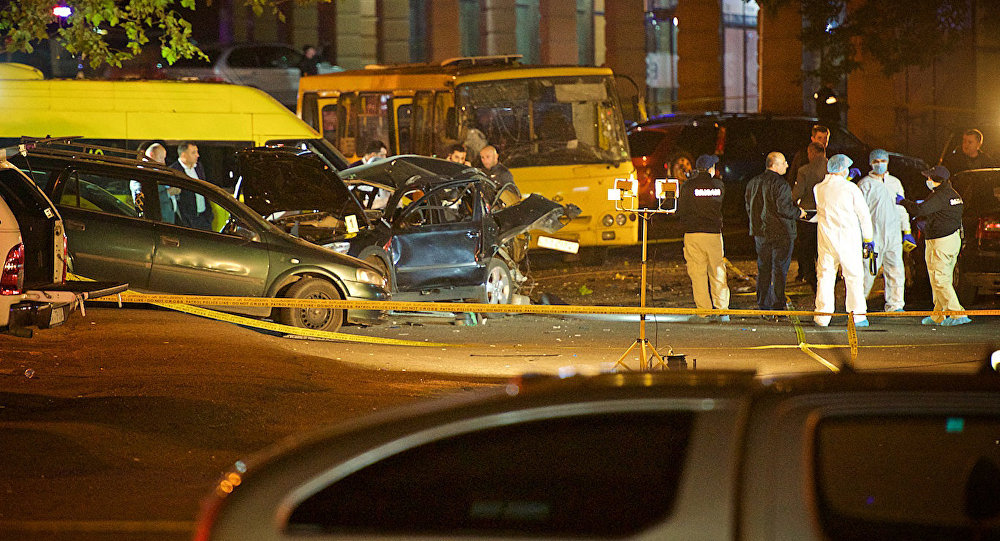 ВТбилиси взорвали автомобиль депутата Гиви Таргамадзе