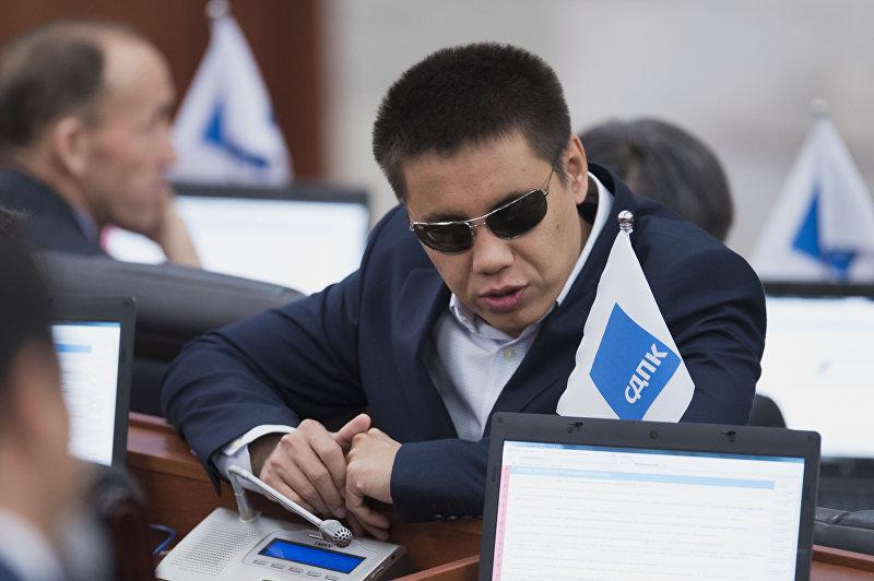 Депутат от фракции СДПК Дастан Бекешев. Архивное фото